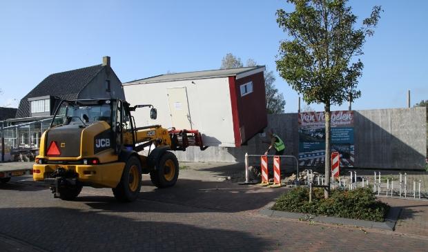 <p>Het toiletgebouw in de Kikkertstraat.</p>