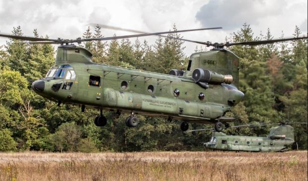 <p>Chinook helikopter.</p>