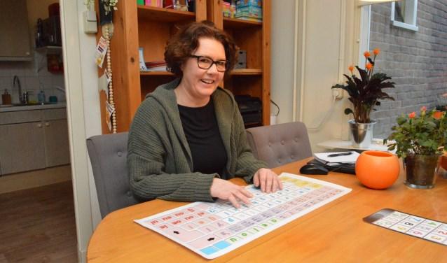 Miriam Korn in haar woning aan de Oesterstraat.