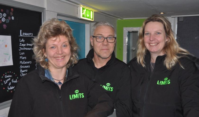 Cintha Stiekema, Ron Vermeulen en Berber Kruger van L!m!ts