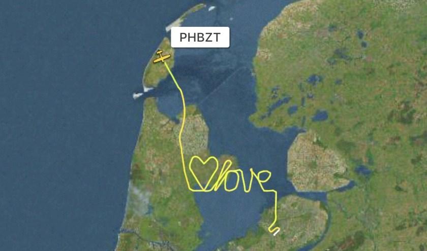 De tekst van Joeri van Veen op Flightradar.