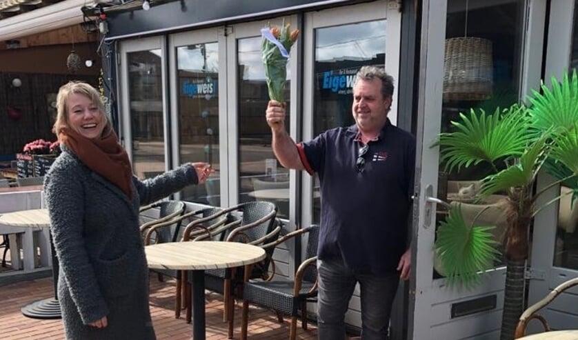 Tulpen voor ondernemend De Koog.