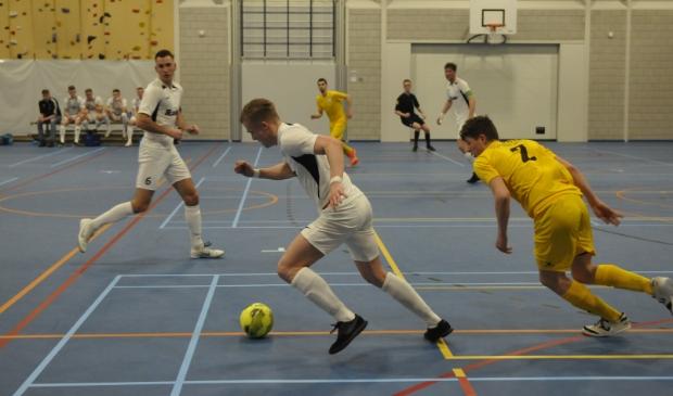 Texel in actie tegen Leekster Eagles.