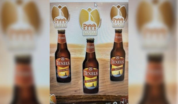 Drie bieren van de Texelse Bierbrouwerij zijn in de prijzen gevallen.