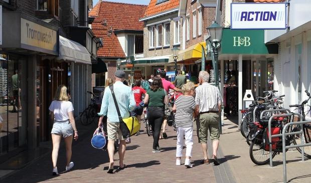 De Weverstraat in Den Burg.