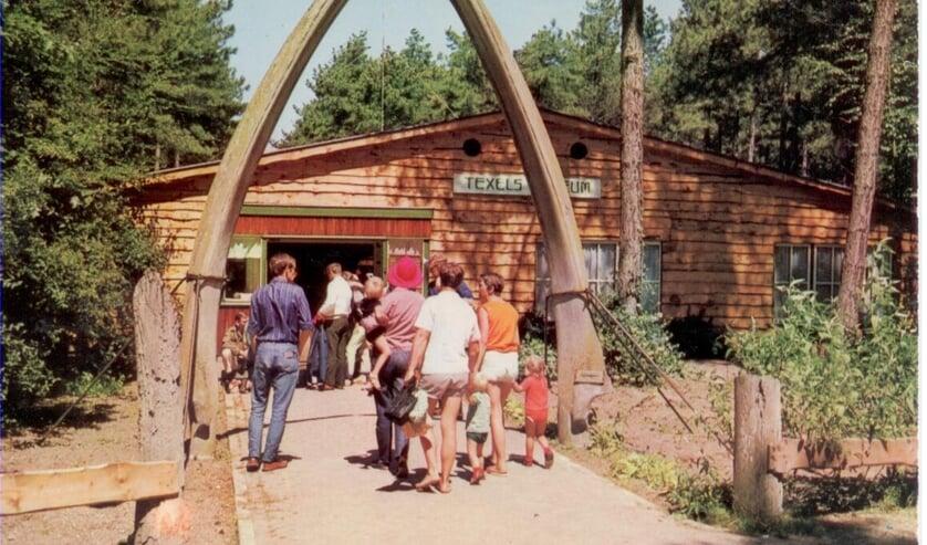 texels museum in het bos publiek