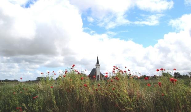 Een plaatje van een kerk, levert een plaatje van een foto op.