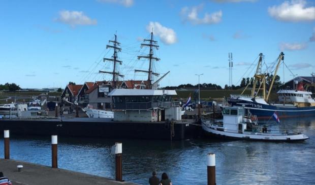 <p>Het stuurhuis keerde een jaar geleden na de sloop van de Schulpengat terug op Texel.</p>