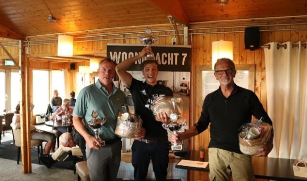 v.l.n.r: Antoine Kersten, Lars Bosma en Dirk Hoogendijk