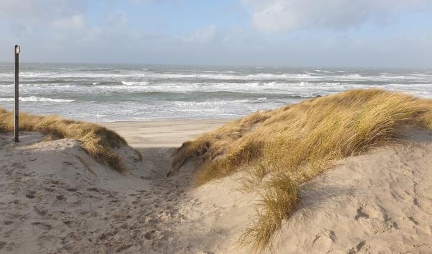 <p>Stormachtig weer bij De Muy.</p>