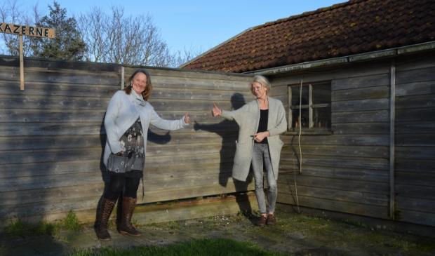 <p>Anita Schiphorst en Wil de Wolf.</p>