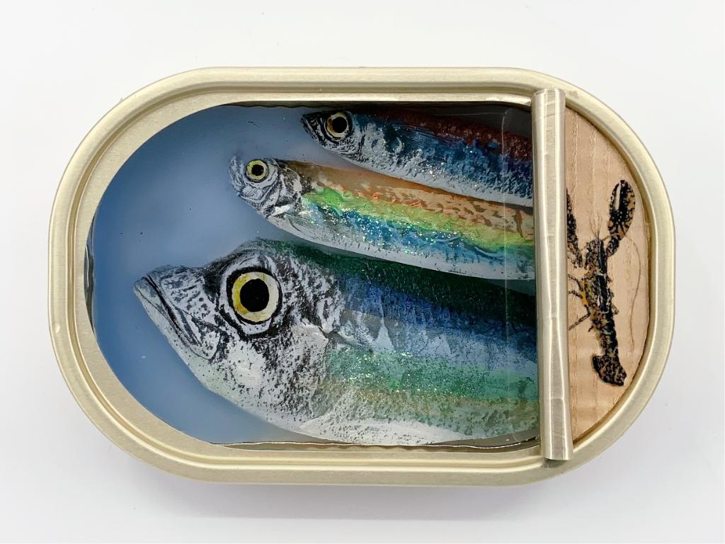 Ortaire de Coupigny: Sardines in blik Foto: Galerie Posthuys © Mediabureau Langeveld & De Rooy