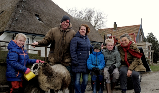 V.l.n.r.: Fleur, Jan-Willem, Sonja, Joep, Guus en Hanna