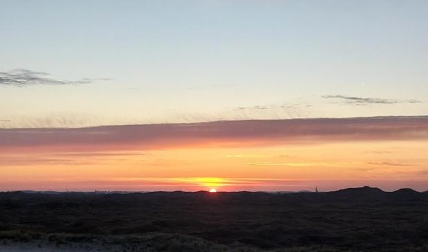 <p>De mooie lucht boven de Texelse duinen.</p>