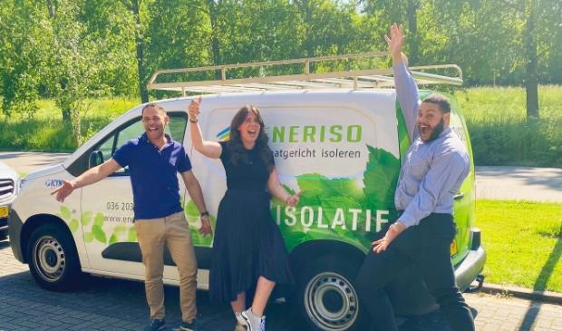 <p>Het team van Eneriso isolatie</p>
