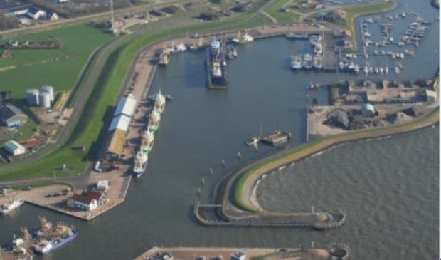 <p>De haven van Oudeschild.&nbsp;</p>