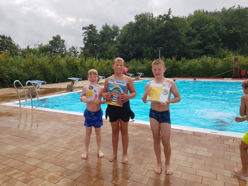 Winnaars 5 t/m 10 jaar Foto: Rosa Vonk © Mediabureau Langeveld & De Rooy