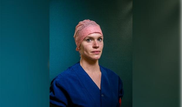 Nederland. Uden, 11-04-2020, Portret, Zorgmedewerkers Bernhoven Ziekenhuis. Lisa Kreemer Photo: Jiri Buller (graag met puntjes op de u - dank u wel)