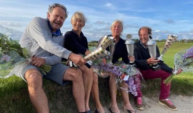 <p>v.l.n.r.: Maurice Frantzen, Lot van Schelt, Marijke de Beer en Robert Viëtor</p>