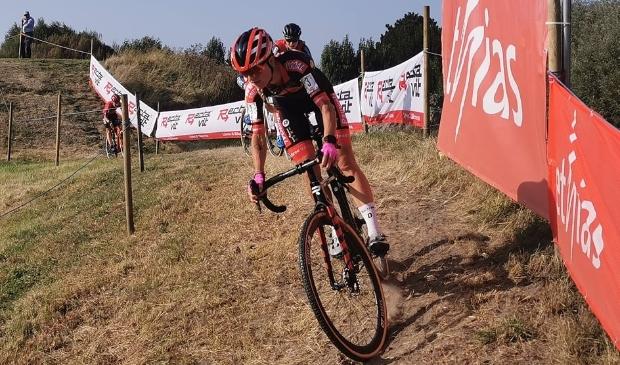 Het was in Bredene een snel en technisch parcours met veel draaien en keren.