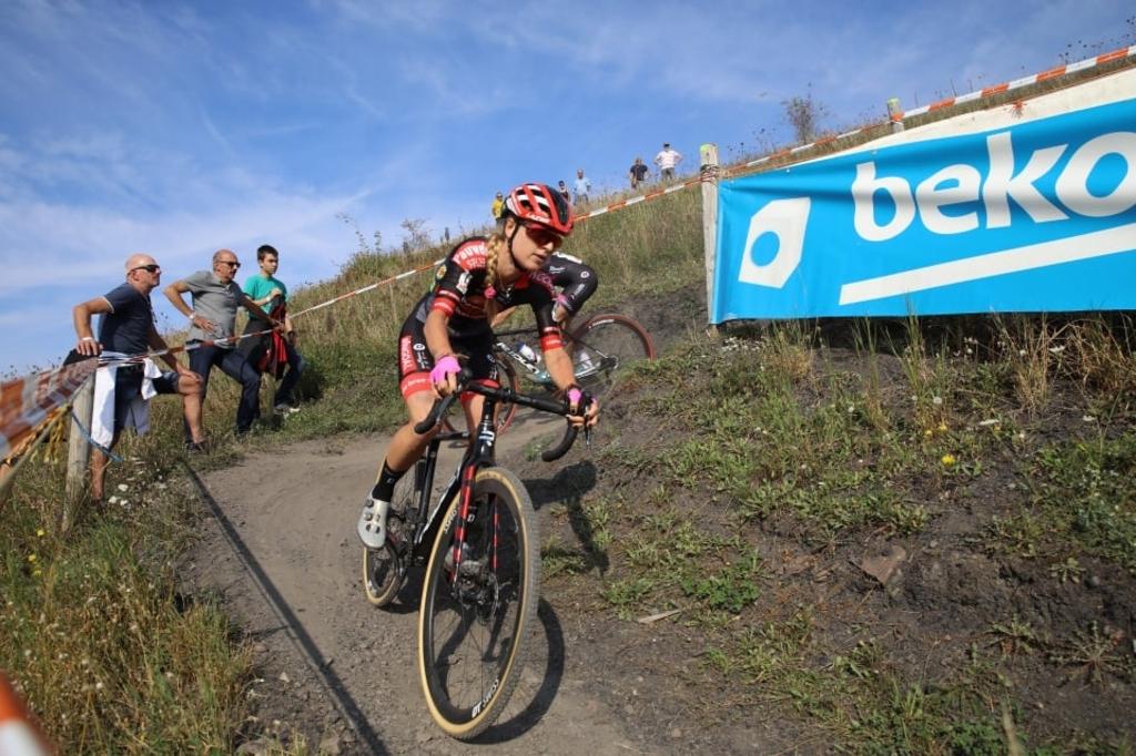 Het parcours kende een hoogteverschil van 58 meter. Foto: Alain van de Pontseele © Mediabureau Langeveld & De Rooy
