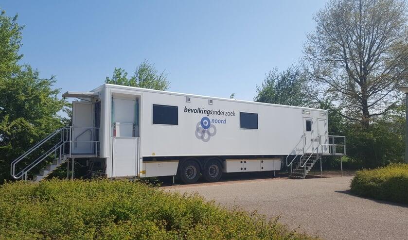 Vanaf 8 juli staat de Borstbevolkingsonderzoekswagen onder andere in Drachten.
