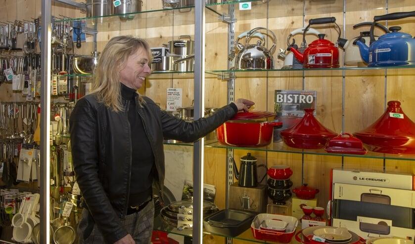 """Annamarie Veenstra: """"Koken op inductie kan goed zijn voor het milieu, maar gebruik wel goede pannen."""""""