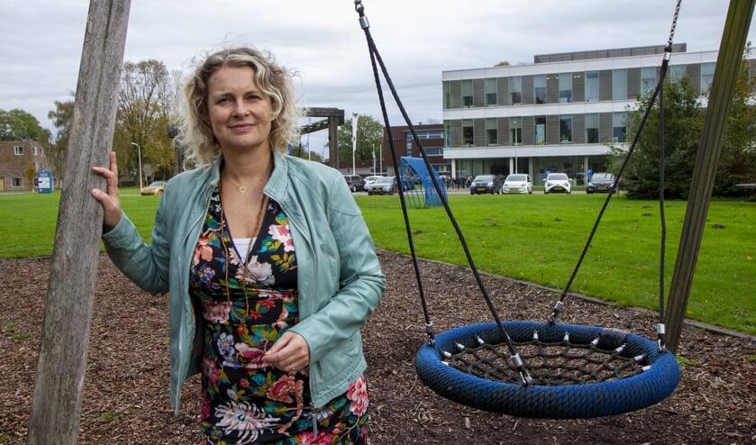 Advocaat Janny van Vonderen-Jagersma houdt regelmatig besprekingen in hetMaxima Centrum in Burgum.