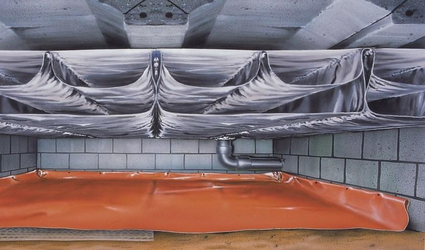 De Thermoskussens worden gecombineerd met een stevige bodemfolie.