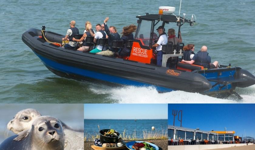 Ga mee op rescueboot-expeditie en geniet na met een drankje bij De Noorman.