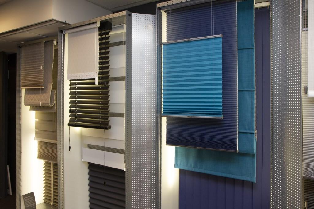 De afdeling raamdecoratie. Foto: Actief Media © Actief Media