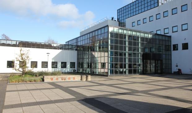 Het gemeentehuis van Smallingerland in Drachten.