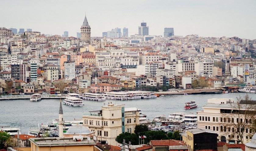 De bruisende stad Istanboel.