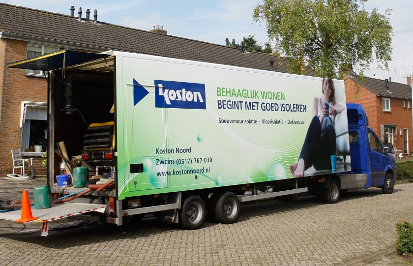 Koston Noord werkt in de noordelijke provincies.