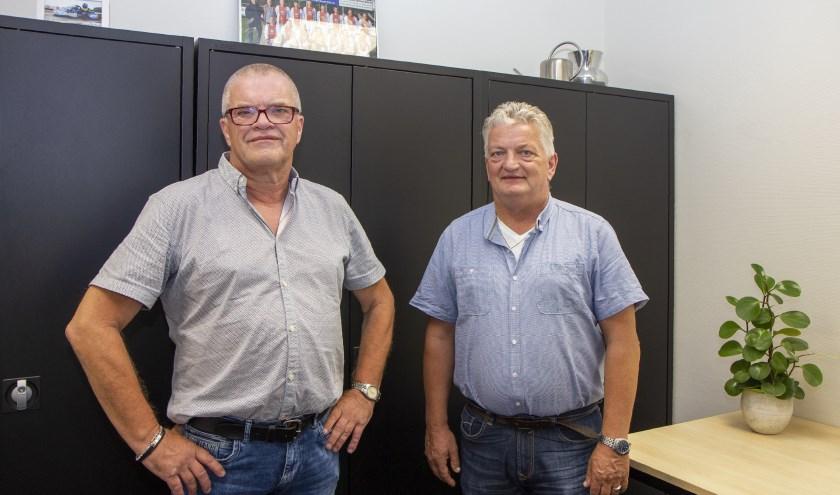 Financieel adviseurs Heine Kooistra en Jappie Braaksma.