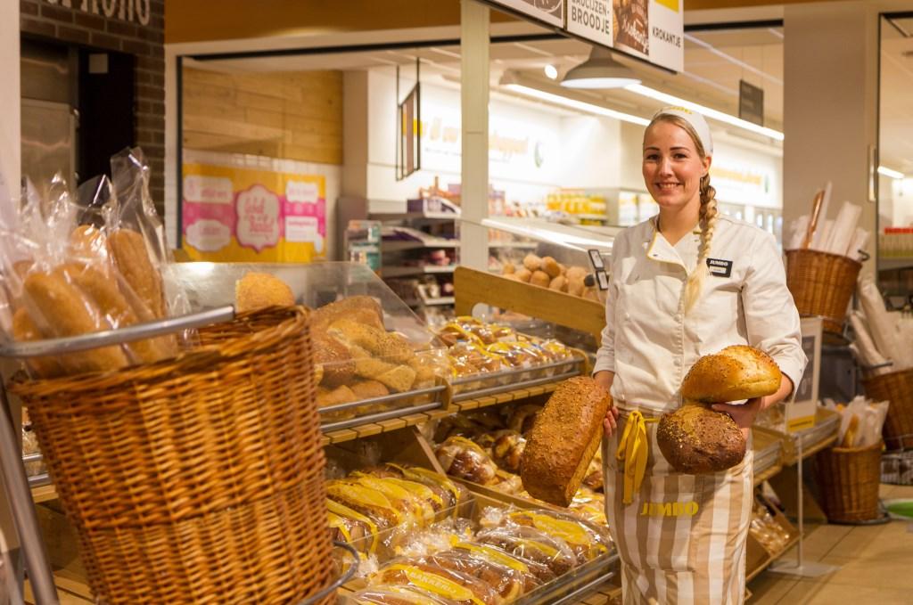 De hele dag vers brood dankzij chef brood Sjoeke Andringa. Foto: Actief Media © Actief Media