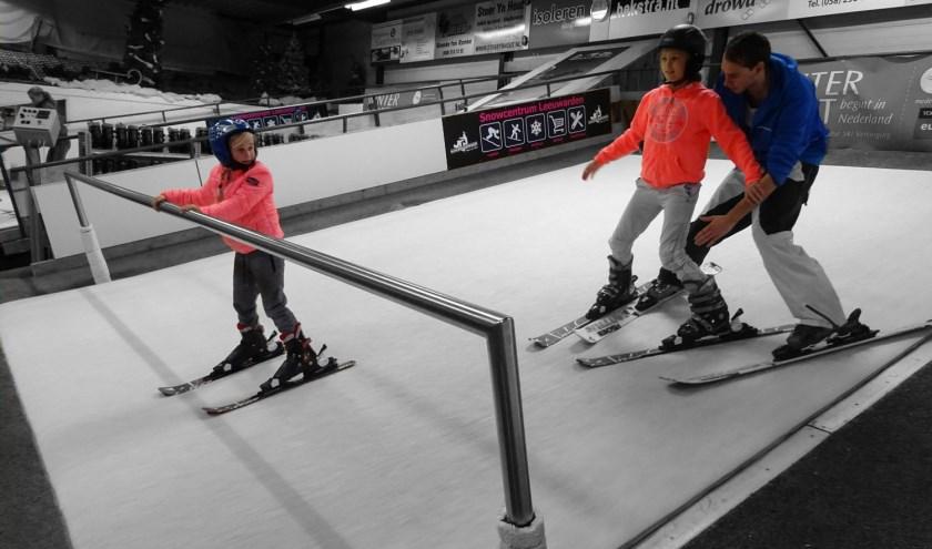 Goed voorbereid op wintersport? Neem les op de rolbanen van Snowcentrum Leeuwarden.
