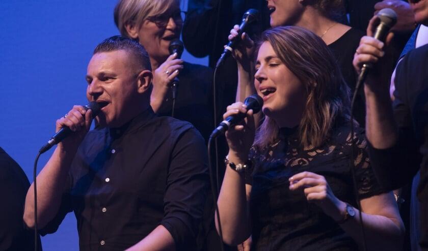 Een repetitie van Joy for People Gospel Choir uit Dokkum.