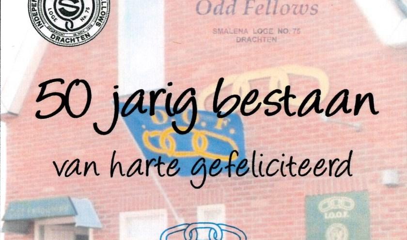 De Odd Fellows vierden dinsdag 19 november hun 50-jarig bestaan.