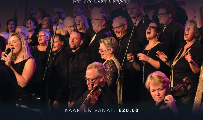 The Choir Company en Events For Christ presenteren 'TheChristmas Collection of Tom Parker 2019'.
