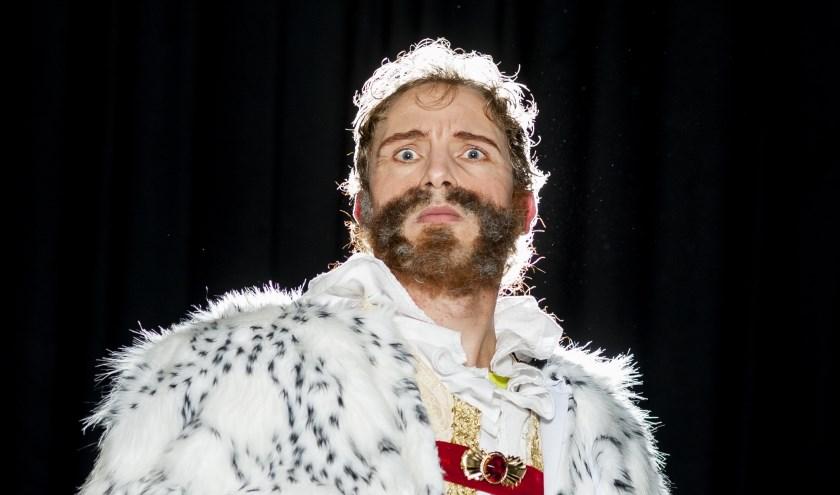 ´De Koning van zijn troon´ is een kerstvoorstelling voor het hele gezin.