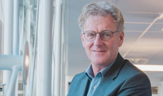 <p>Burgemeester Oebele Brouwer van Achtkarspelen.</p>