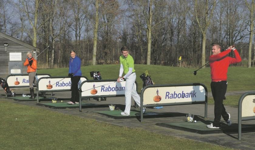 Kom een potje golfen tijdens de Open Golfdag.