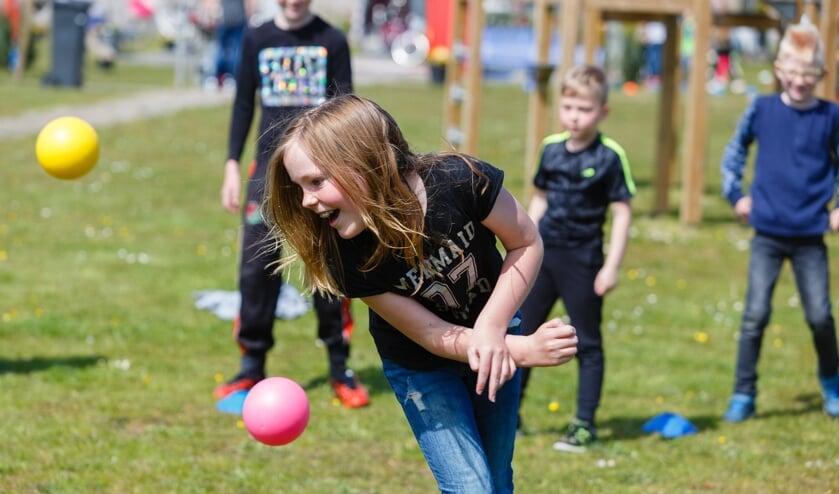 Sport- en spelactiviteiten voor jongeren.