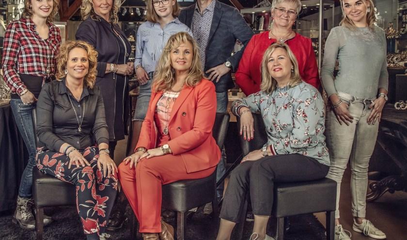 Het team van Juwelier De Slag.