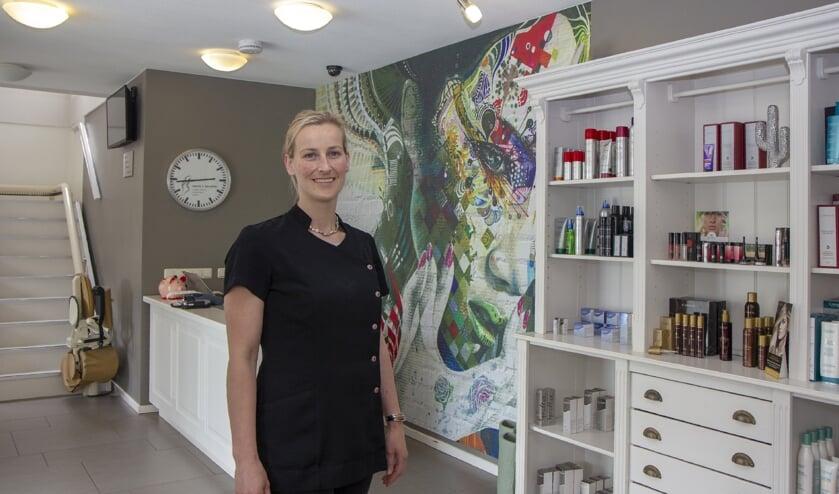 """Wendy van der Velde runt haar onderneming als meewerkendleidinggevende. """"We doen  het samen en bieden veel."""""""