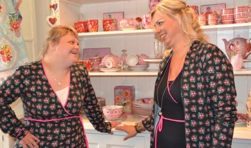 Melanie Sijtsma en Anneke Heeringa runnen samen de gezellige winkel PaPiTo.