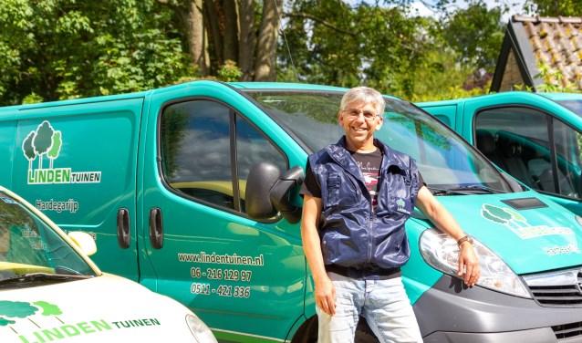 Ondernemer Gert van der Linden is al meer dan vier decennia actief in de boomkwekerij- en hovenierssector.