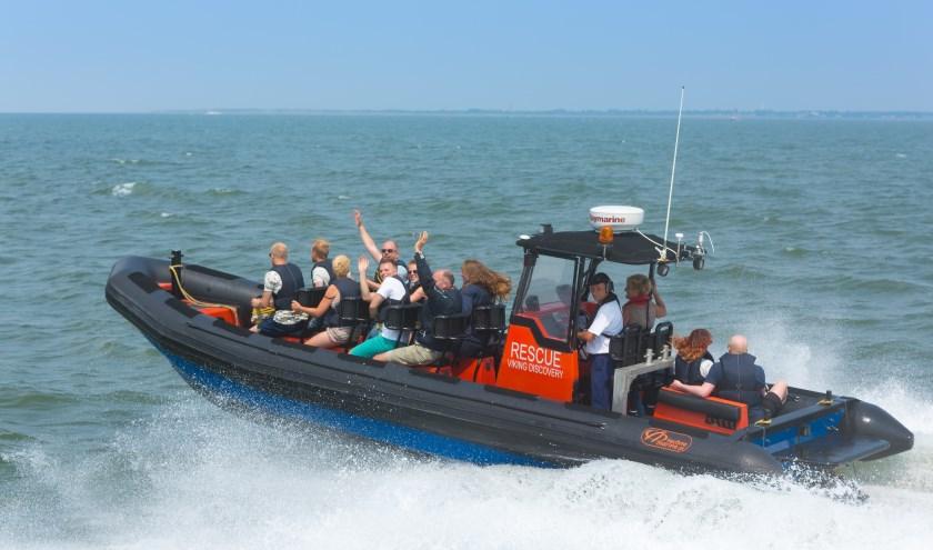 Een echte aanrader is één van de rescueboot tochten.
