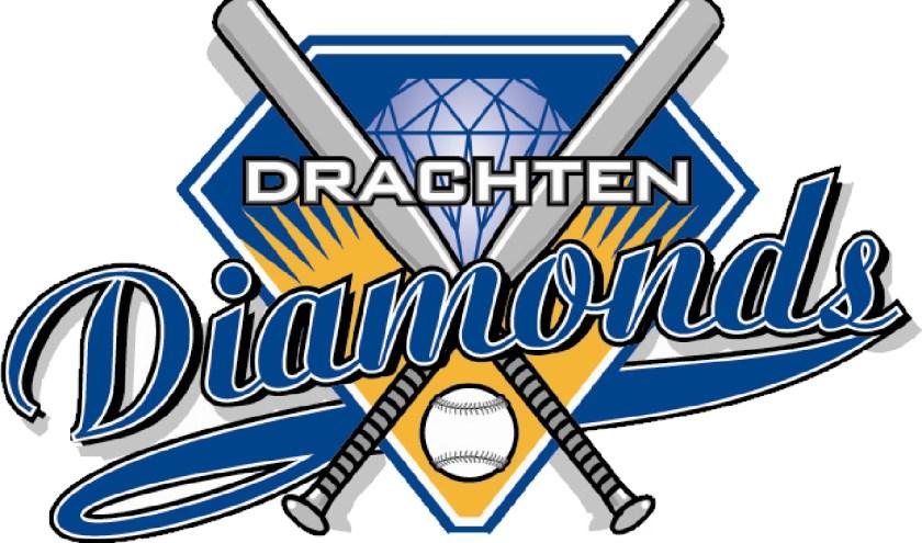 Het logo van de Diamonds